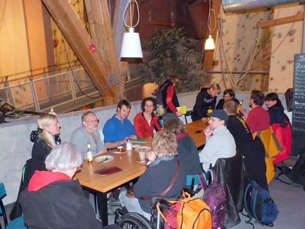 Gruppenleben im Canyon Chorweiler © Deutscher Alpenverein Sektion Rheinland-Köln