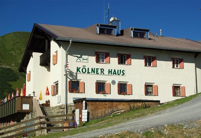 K%C3%B6lner Haus © Deutscher Alpenverein Sektion Rheinland-Köln