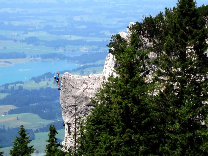 [12] Tegelbergsteig ©Gerd Lorenz © Deutscher Alpenverein Sektion Rheinland-Köln