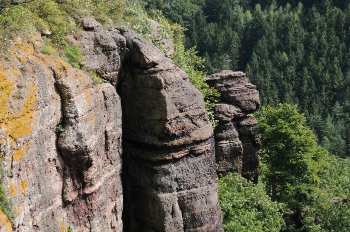 [23] Burgwände und Hager Turm ©Kalle Kubatschka © Deutscher Alpenverein Sektion Rheinland-Köln