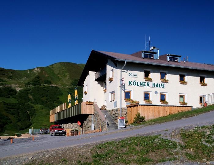 [44] Kölner Haus auf Komperdell ©Kalle Kubatschka © Deutscher Alpenverein Sektion Rheinland-Köln