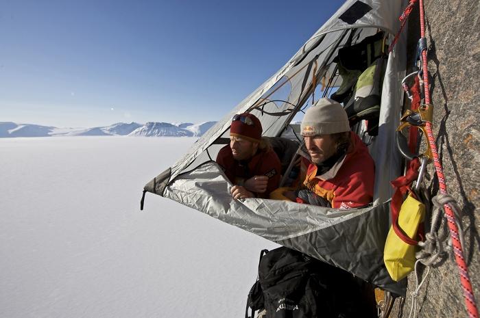 [112] Robert Jasper und Stefan Glowacz auf Baffin Island ©Stefan Glowacz © Deutscher Alpenverein Sektion Rheinland-Köln
