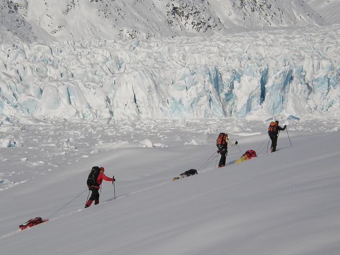 [123] In Grönland unterwegs ©Axel Vorberg © Deutscher Alpenverein Sektion Rheinland-Köln