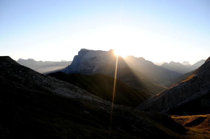 [146] Sonnenaufgang Tierser Alpl ©Kalle Kubatschka © Deutscher Alpenverein Sektion Rheinland-Köln