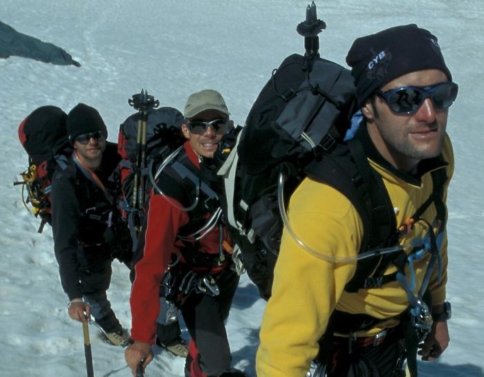 [163] Auf Hochtouren in der Bernina ©Kalle Kubatschka © Deutscher Alpenverein Sektion Rheinland-Köln
