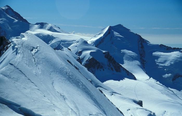 [178] Breithorn, Castor und Pollux, Monte Rosa ©Kalle Kubatschka © Deutscher Alpenverein Sektion Rheinland-Köln
