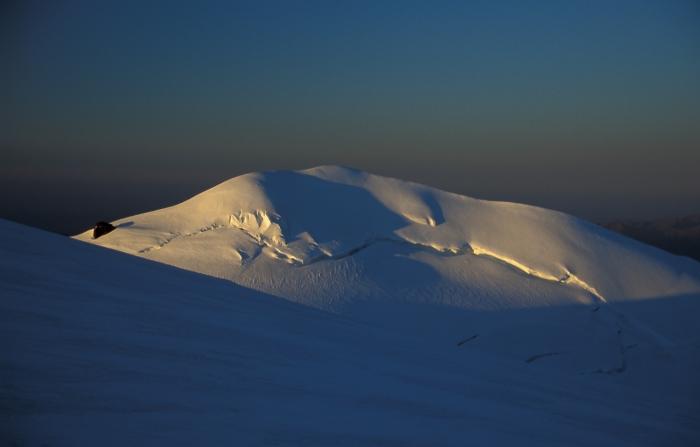 [182] Sonnenaufgang in der Monte Rosa ©Kalle Kubatschka © Deutscher Alpenverein Sektion Rheinland-Köln