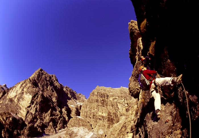 [190] Schlicker Klettersteig ©Bernd Ritschel © Deutscher Alpenverein Sektion Rheinland-Köln