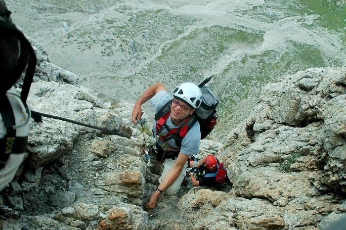 [213] Pößnecker Klettersteig ©Kalle Kubatschka © Deutscher Alpenverein Sektion Rheinland-Köln