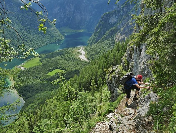 Steile Steige im Berchtesgadener Land, Foto: Anna Skora © Deutscher Alpenverein Sektion Rheinland-Köln