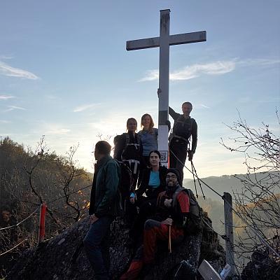 Es ist ein Kreuz! Unterwegs im West-Westerwald mit Jens Foto: Jens S © Deutscher Alpenverein Sektion Rheinland-Köln