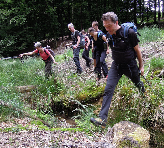 G%C3%BCnters Bergischer Marathon: Dynamisches Alpines Vergn%C3%BCgen! §%A9 Jens S © Deutscher Alpenverein Sektion Rheinland-Köln