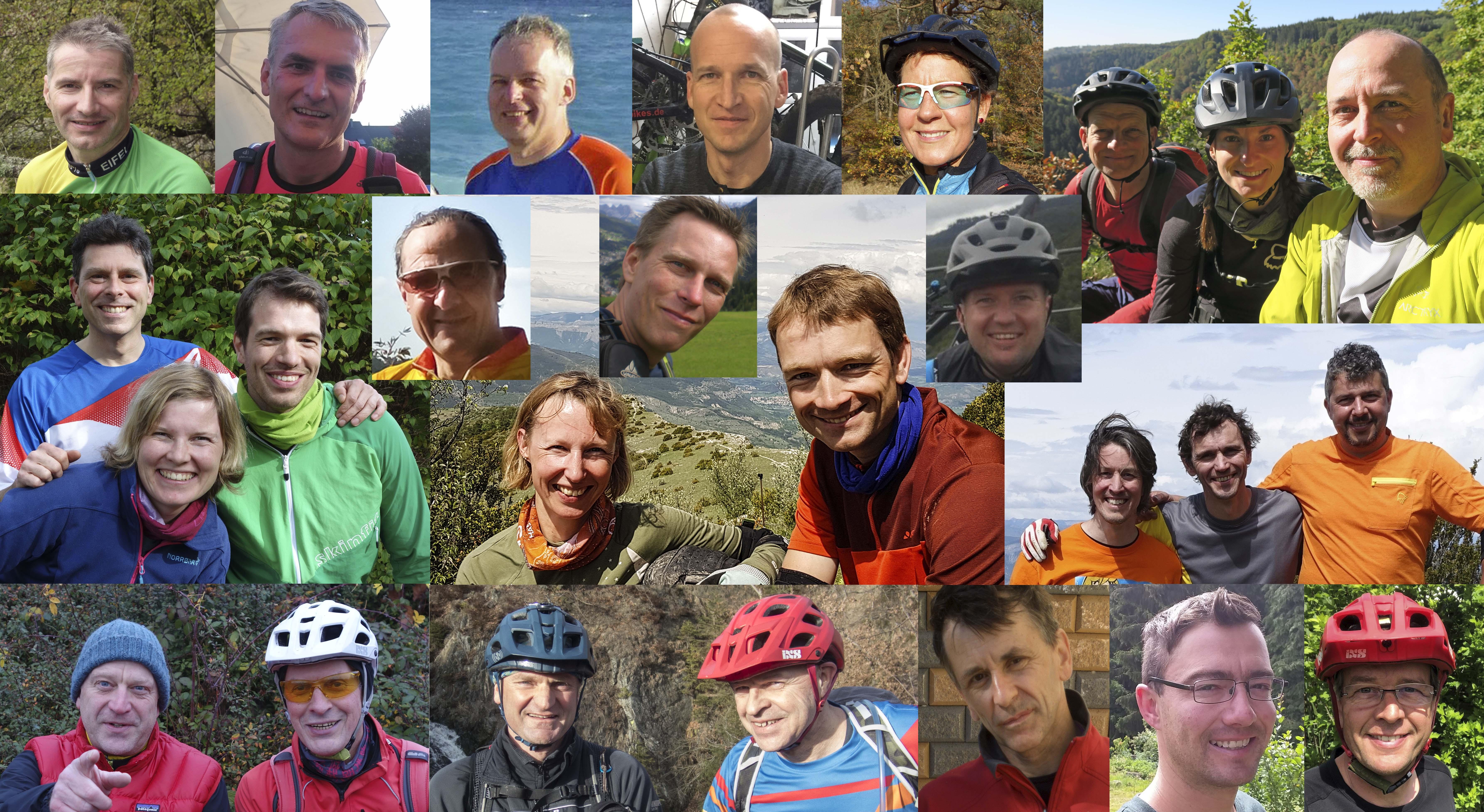 Das MTB-Team © Deutscher Alpenverein Sektion Rheinland-Köln