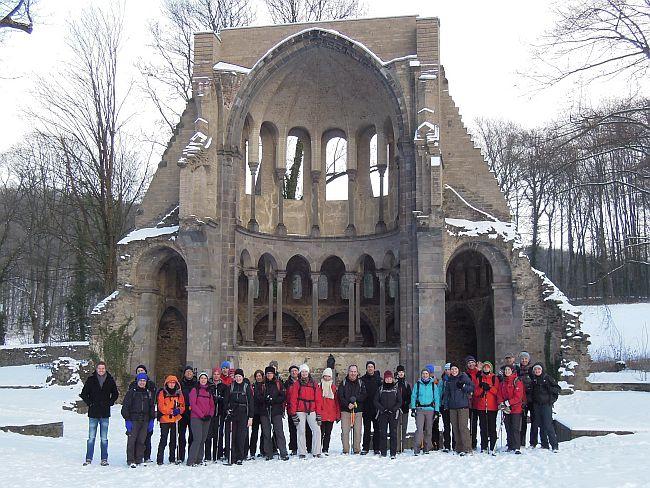 Chorruine Kloster Heisterbach © Deutscher Alpenverein Sektion Rheinland-Köln