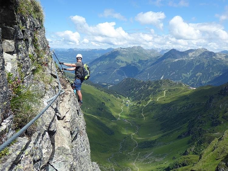 Auf Klettersteigtour mit Andreas © Deutscher Alpenverein Sektion Rheinland-Köln