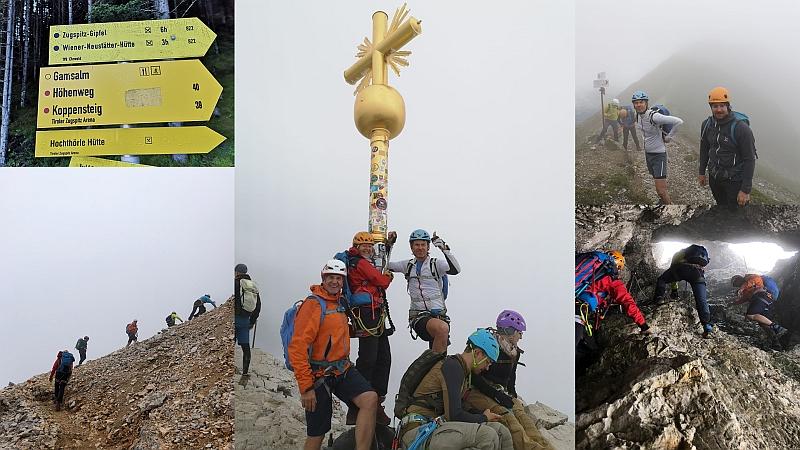 Anstieg und Gipfel der Zugspitze © Deutscher Alpenverein Sektion Rheinland-Köln