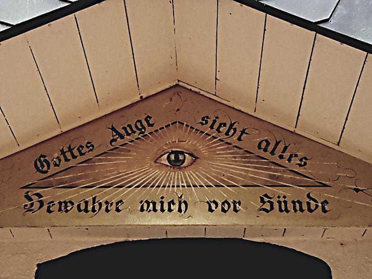 Das Auge Gottes; (C) Friedgard Diehl/pixelio.de © Deutscher Alpenverein Sektion Rheinland-Köln