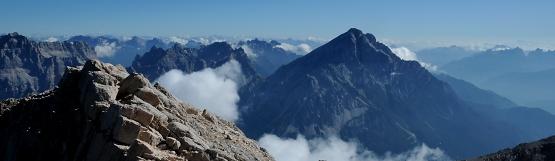 [56] Antelao vom Gipfel des Monte Pelmo  ©Kalle Kubatschka
