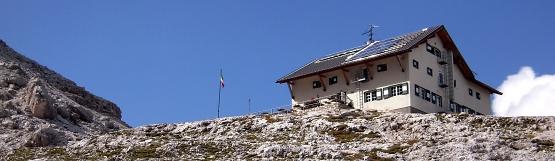 [65] Pisciadu Hütte in der Sella ©Kalle Kubatschka