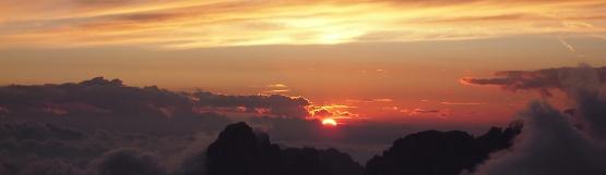[69] Sonnenuntergang auf dem Piz Boe ©Kalle Kubatschka