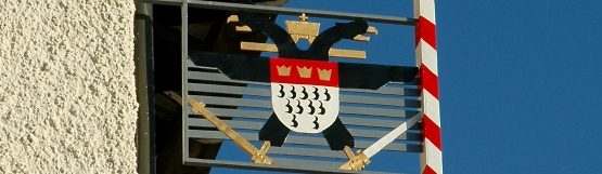 [94] Kölner Wappen am Kölner Haus ©Kalle Kubatschka