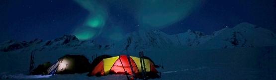 [124] Nachts in Grönland ©Axel Vorberg