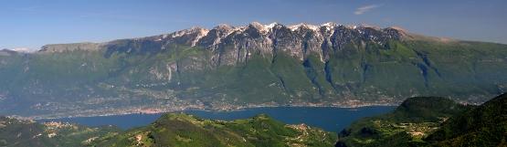 [133] Monte Baldo und Gardasee ©Kalle Kubatschka