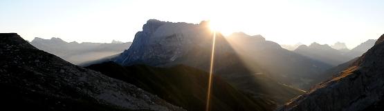 [146] Sonnenaufgang Tierser Alpl ©Kalle Kubatschka